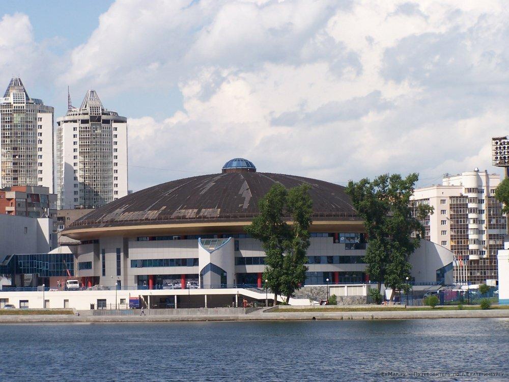 спортивный комплекс — Дворец игровых видов спорта — Екатеринбург, фото №1