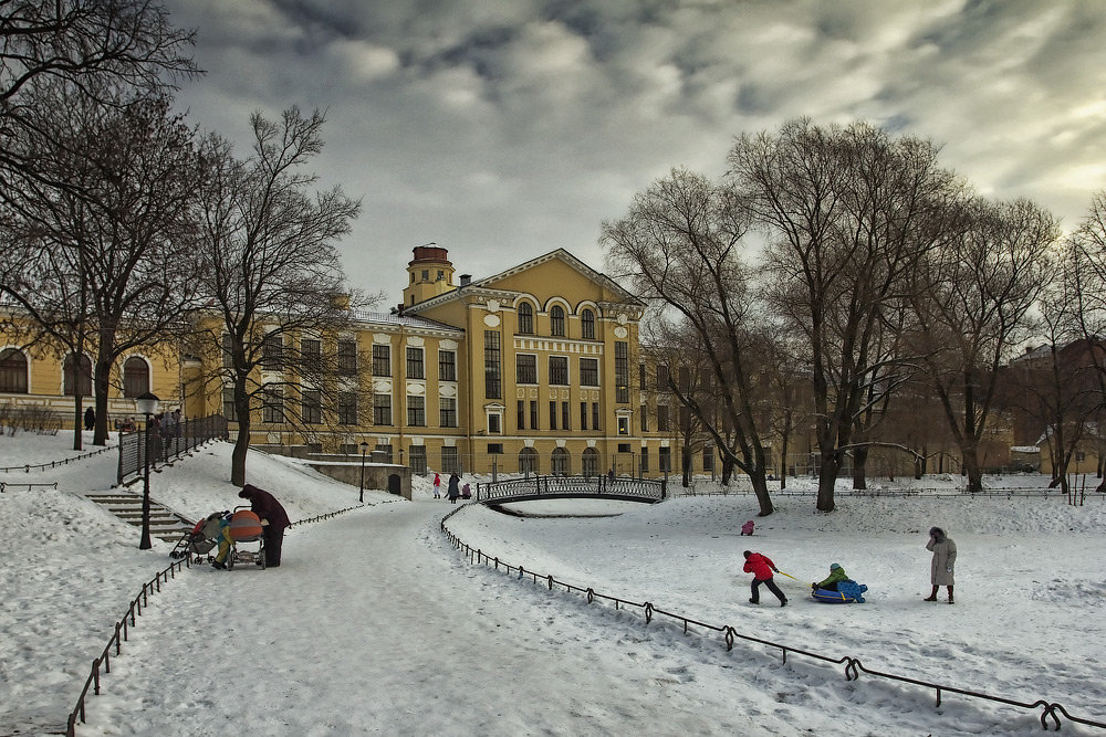 Парки зимнего санкт петербурга фото