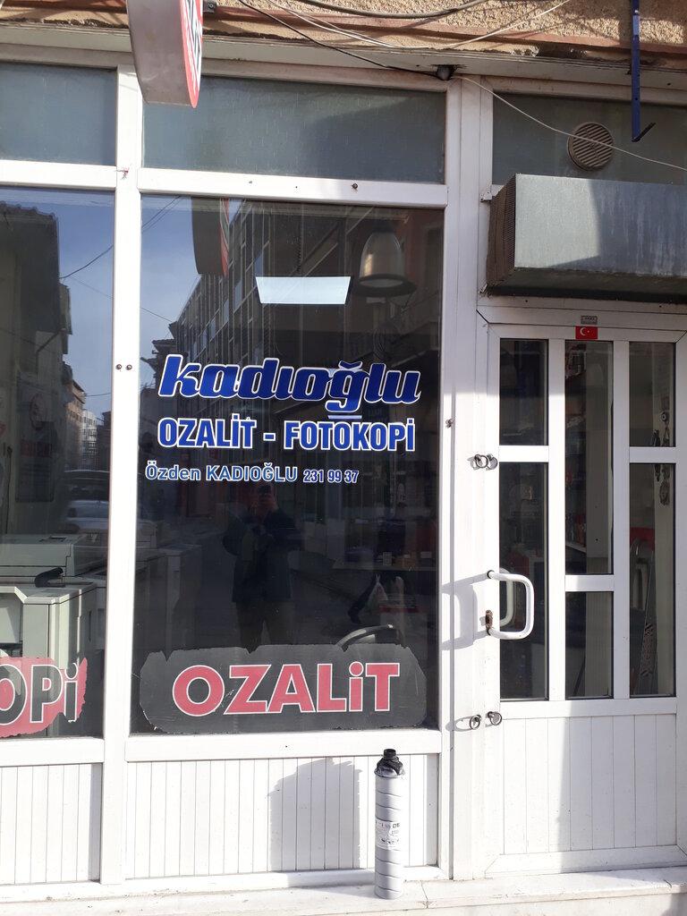 fotokopi dükkanları — Kadıoğlu Ozalit — Eskişehir, photo 1