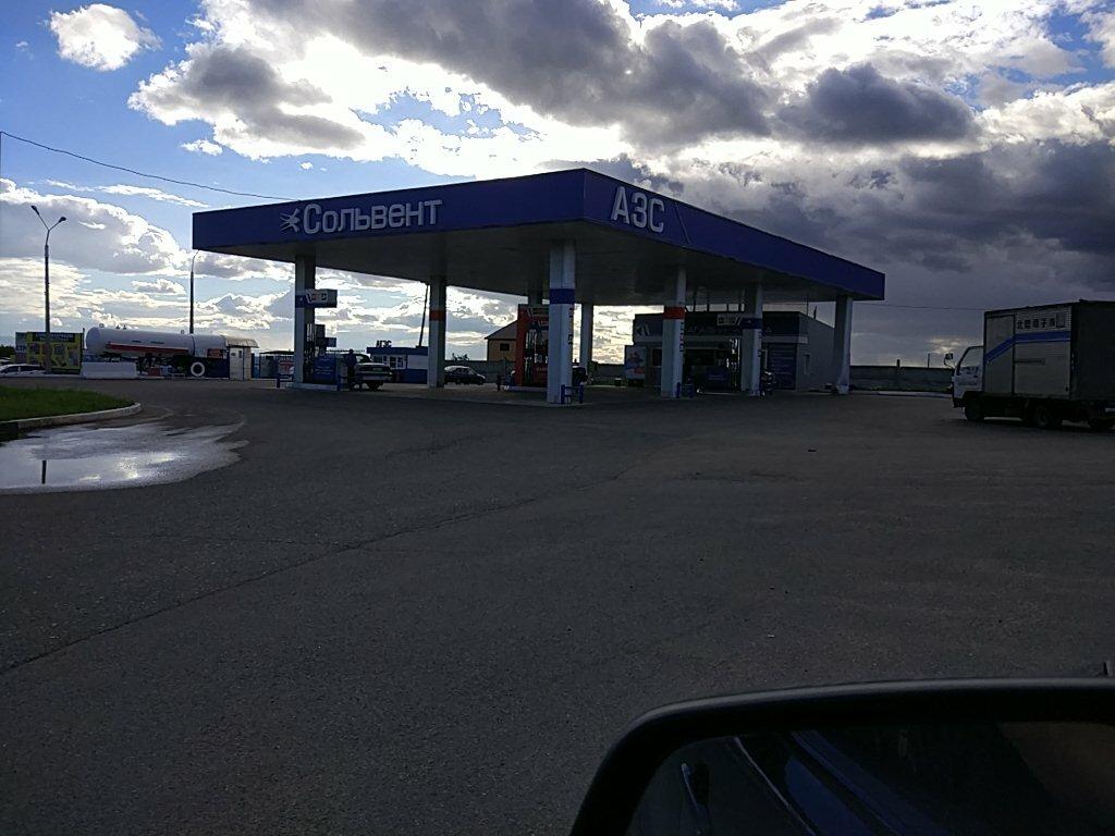 АЗС — АЗС Сольвент — Красноярский край, фото №1