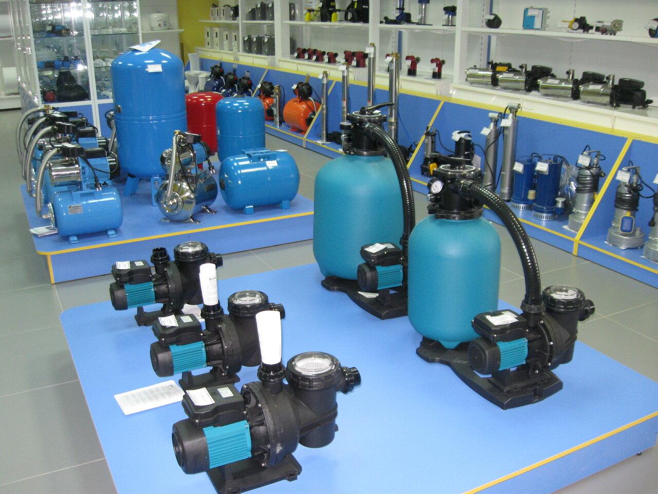 потребители насосного оборудования