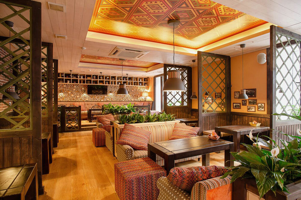 restaurant — Restoran Pkhali-Khinkali — Санкт-Петербург, фото №5
