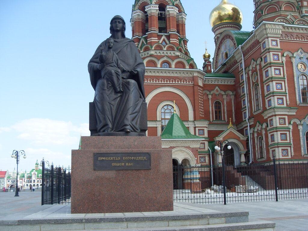 православный храм — Кафедральный собор Благовещения Пресвятой Богородицы — Йошкар-Ола, фото №1