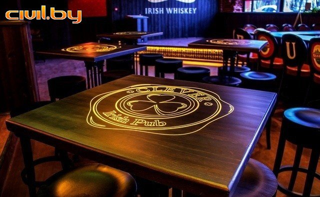 бар, паб — Ирландский паб Клевер — Минск, фото №2