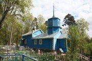 православный храм — Храм Казанской Божией Матери — посёлок городского типа Пушкинские Горы, фото №1