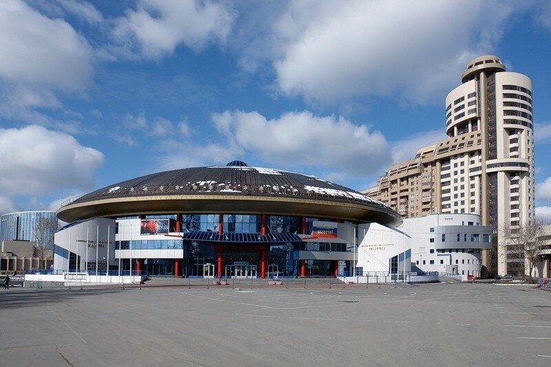 спортивный комплекс — Дворец игровых видов спорта — Екатеринбург, фото №9