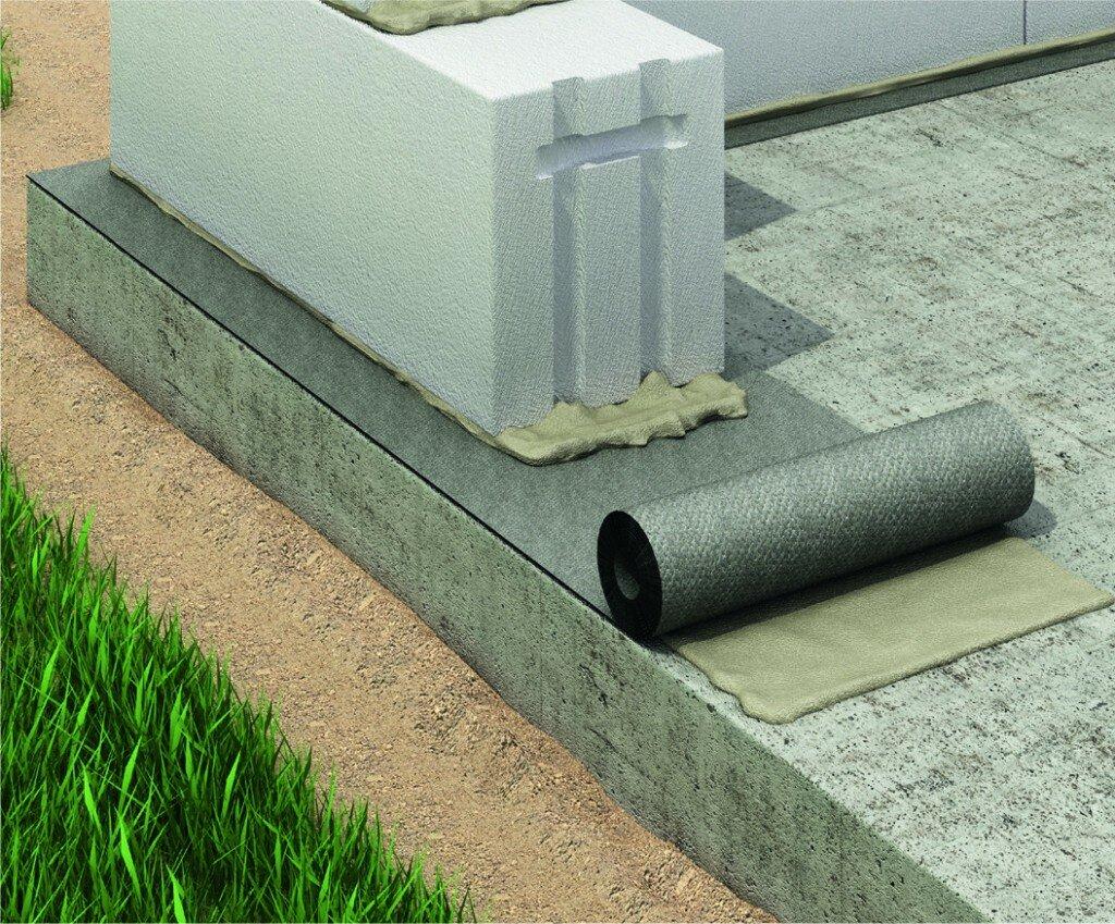 рулонные гидроизоляционные материалы для фундамента