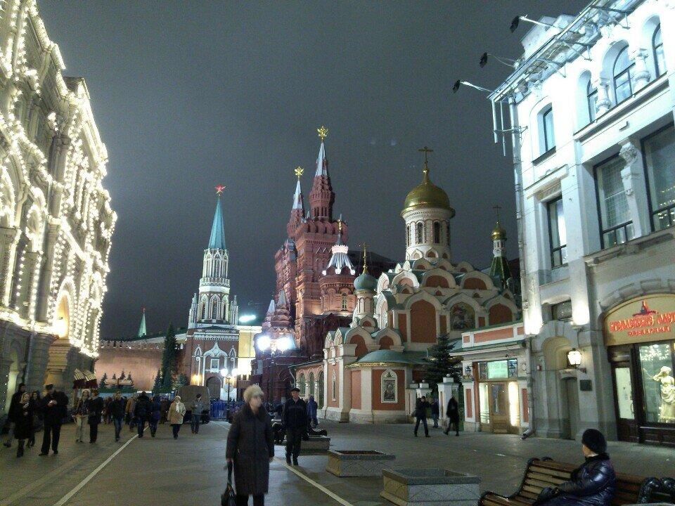 достопримечательность — Никольская башня — Москва, фото №1