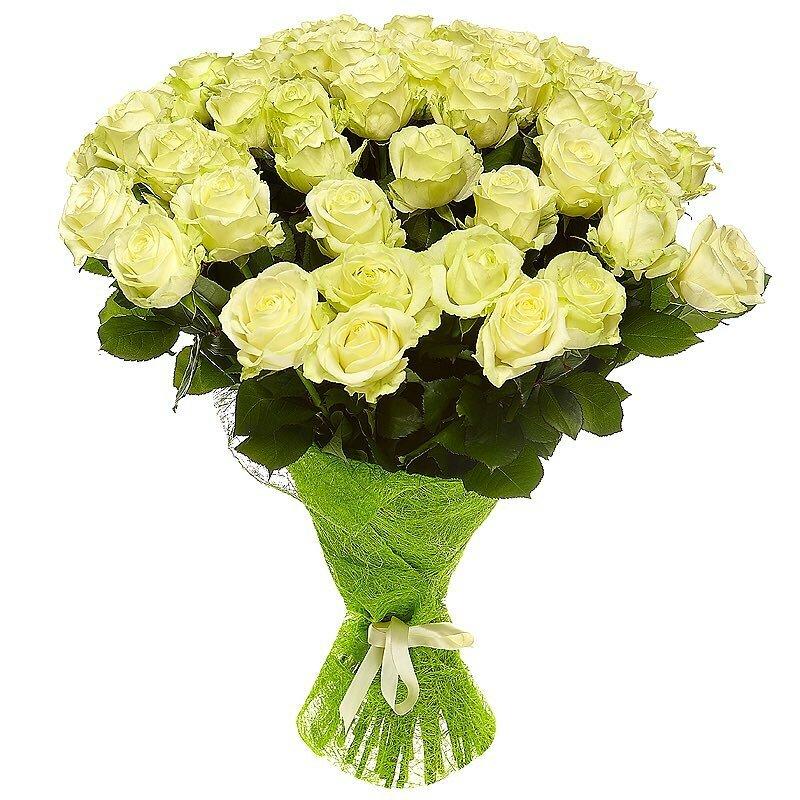 Вальс цветов, букет роз зеленых фото