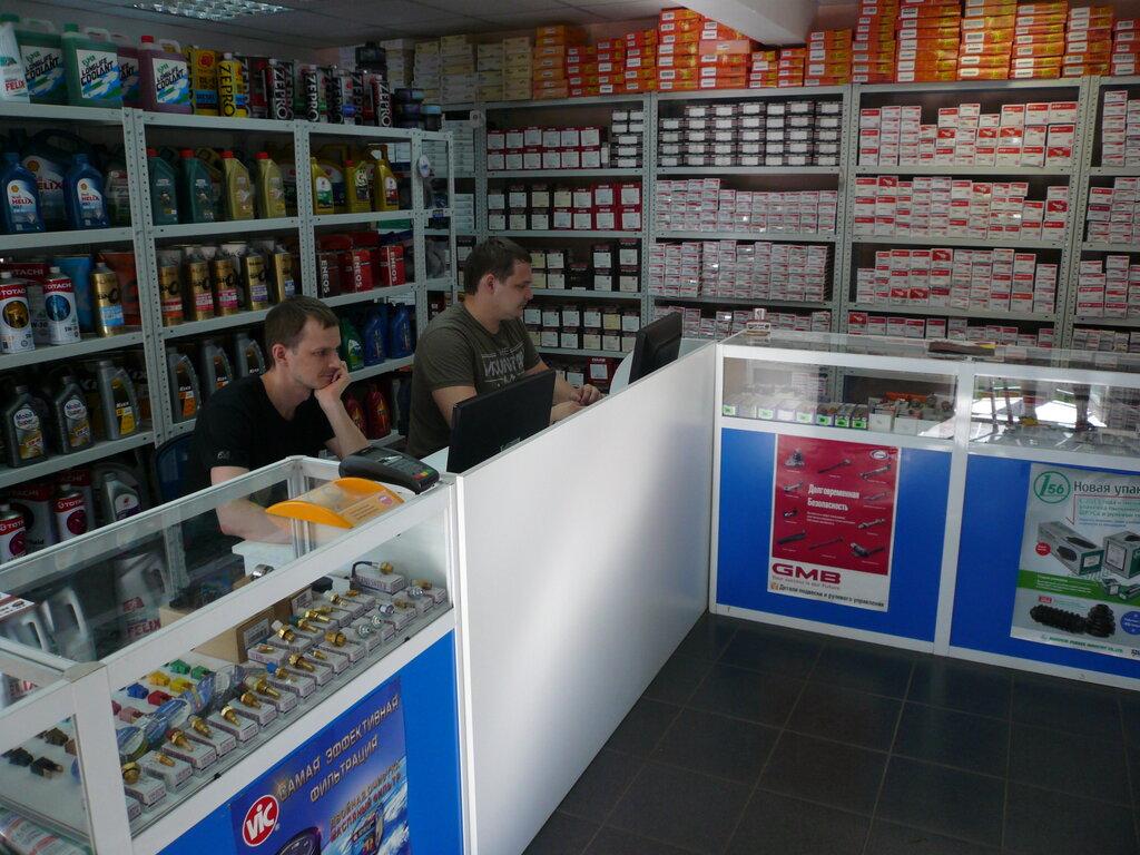 магазин автозапчастей и автотоваров — Одиссей-Авто — Красноярск, фото №2