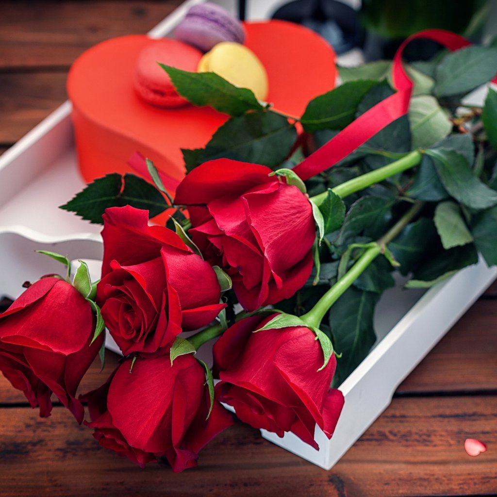 Красные цветы в подарок сон, цветов