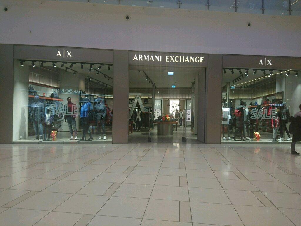 магазин одежды — Armani Exchange — Москва, фото №3