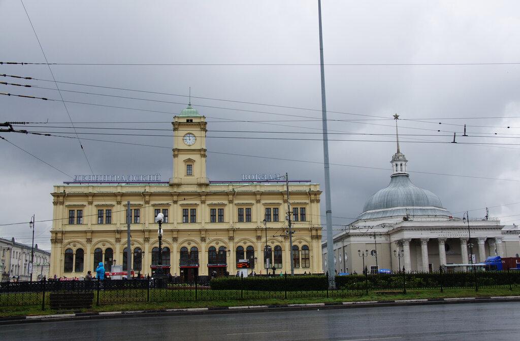 железнодорожный вокзал — Ленинградский вокзал — Москва, фото №2