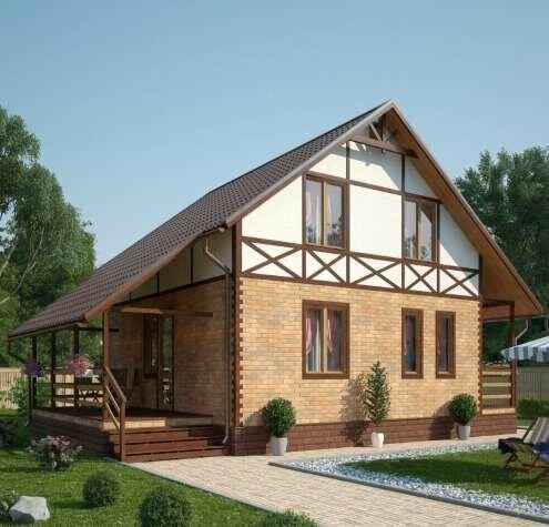 строительство дачных домов и коттеджей — Берест — Москва, фото №4