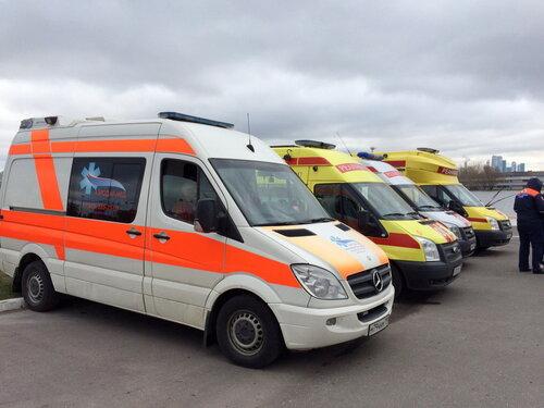 Дежурство бригады скорой помощи на массовых мероприятиях