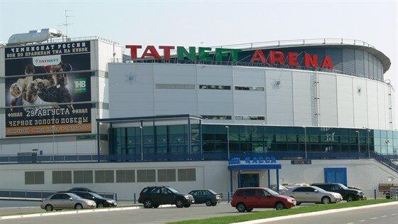 спортивный комплекс — Татнефть Арена — Казань, фото №1