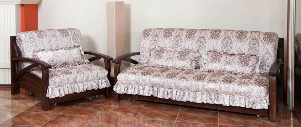 Мягкая мебель до и после перетяжки фото