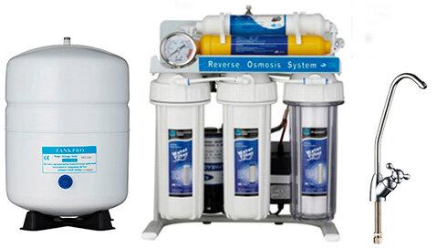 фильтры для воды — EcoFilter Бытовые фильтры для воды — Алматы, фото №1