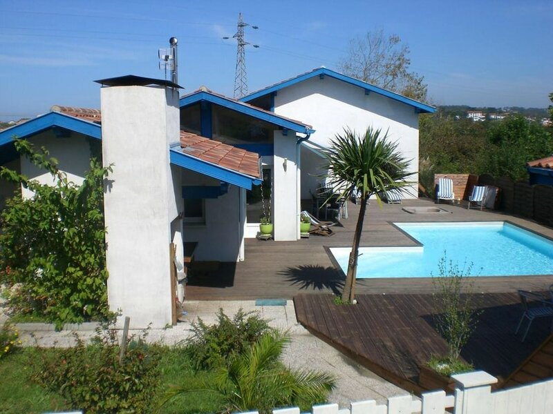 Villa With 6 Bedrooms in Bidart, With Private Pool and Terrace