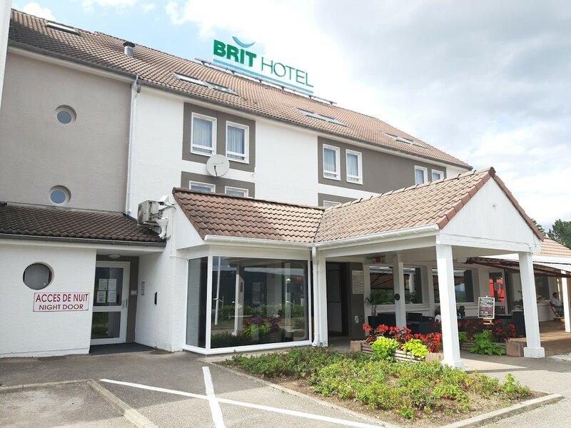 Brit Hotel Besançon L'horloge