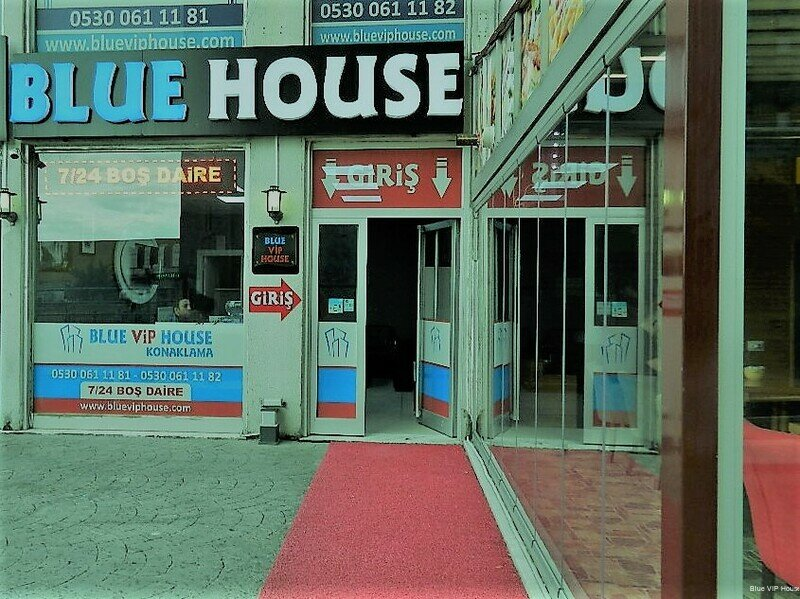 Blue VIP House