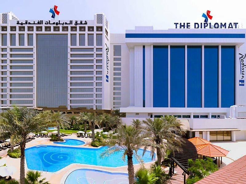 The Diplomat Radisson Blu Hotel, Residence & SPA