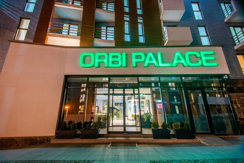 Отель Orbi Palace Hotel Official