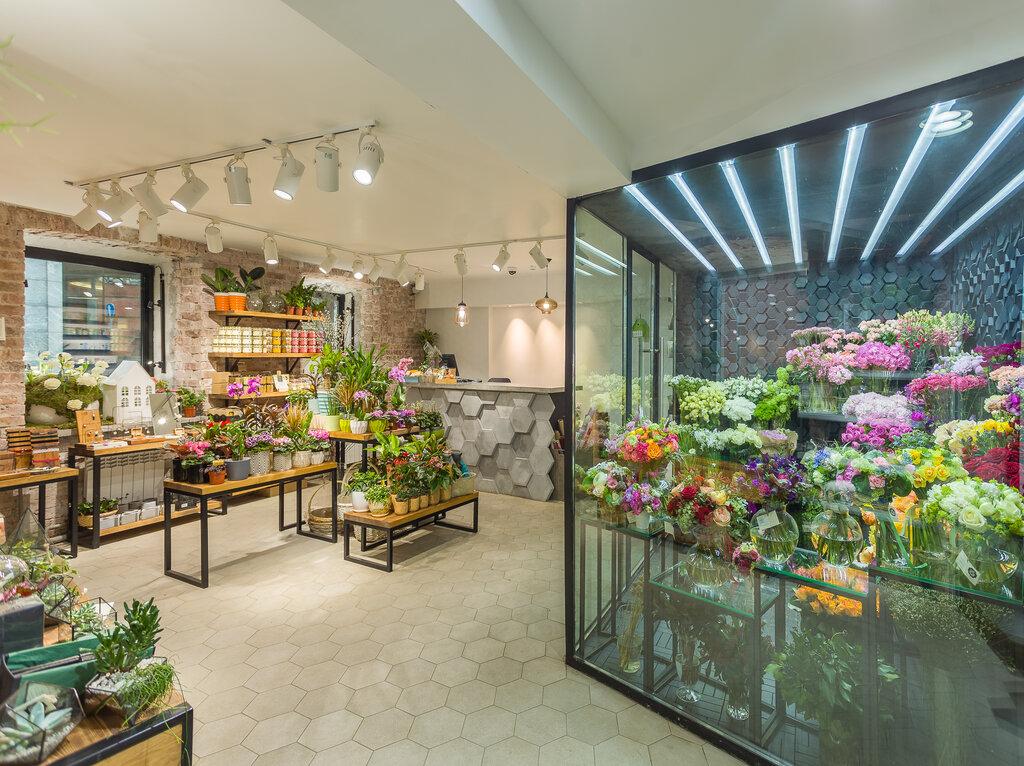 Цветочный магазин в центре москвы