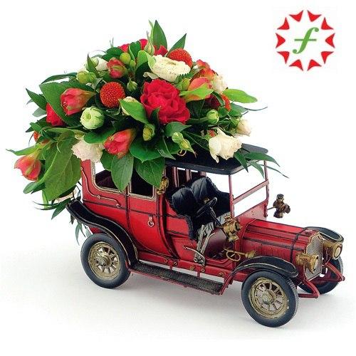 Днем рождения, мужчине открытка с цветами