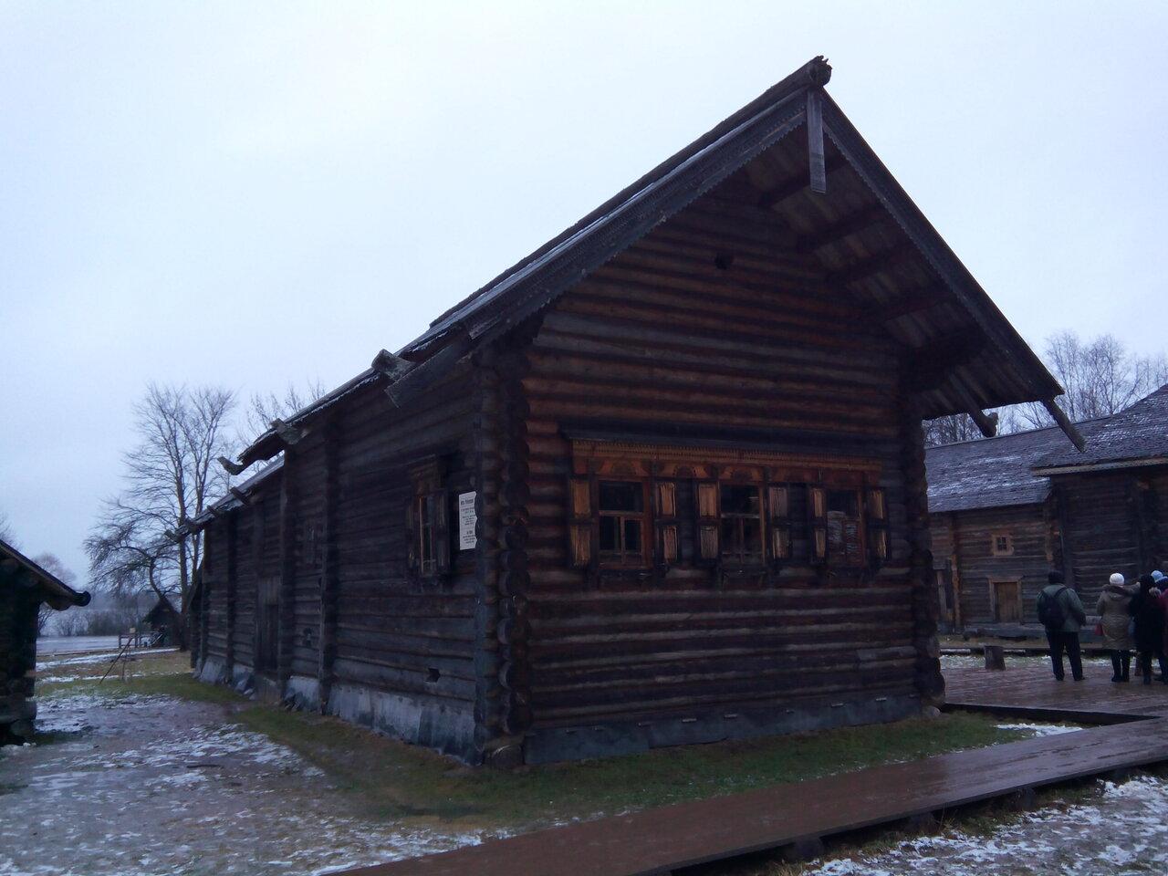 Фото русской избы в новгородской области