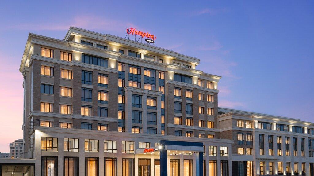 гостиница — Hampton by Hilton Astana Triumphal Arch — Нур-Султан, фото №1
