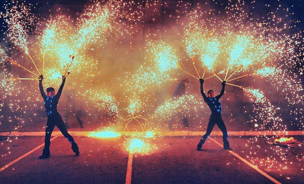 праздничное агентство — Шоу Яркие огни — Тверь, фото №1