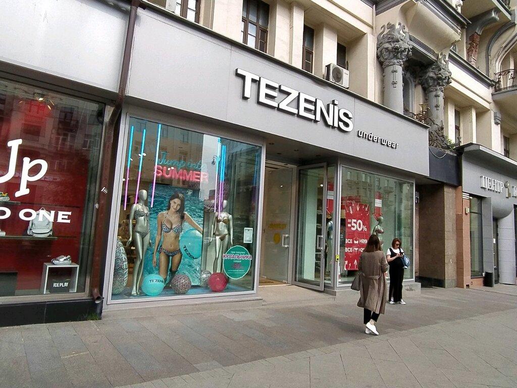 белье женское тезенис магазины в москве