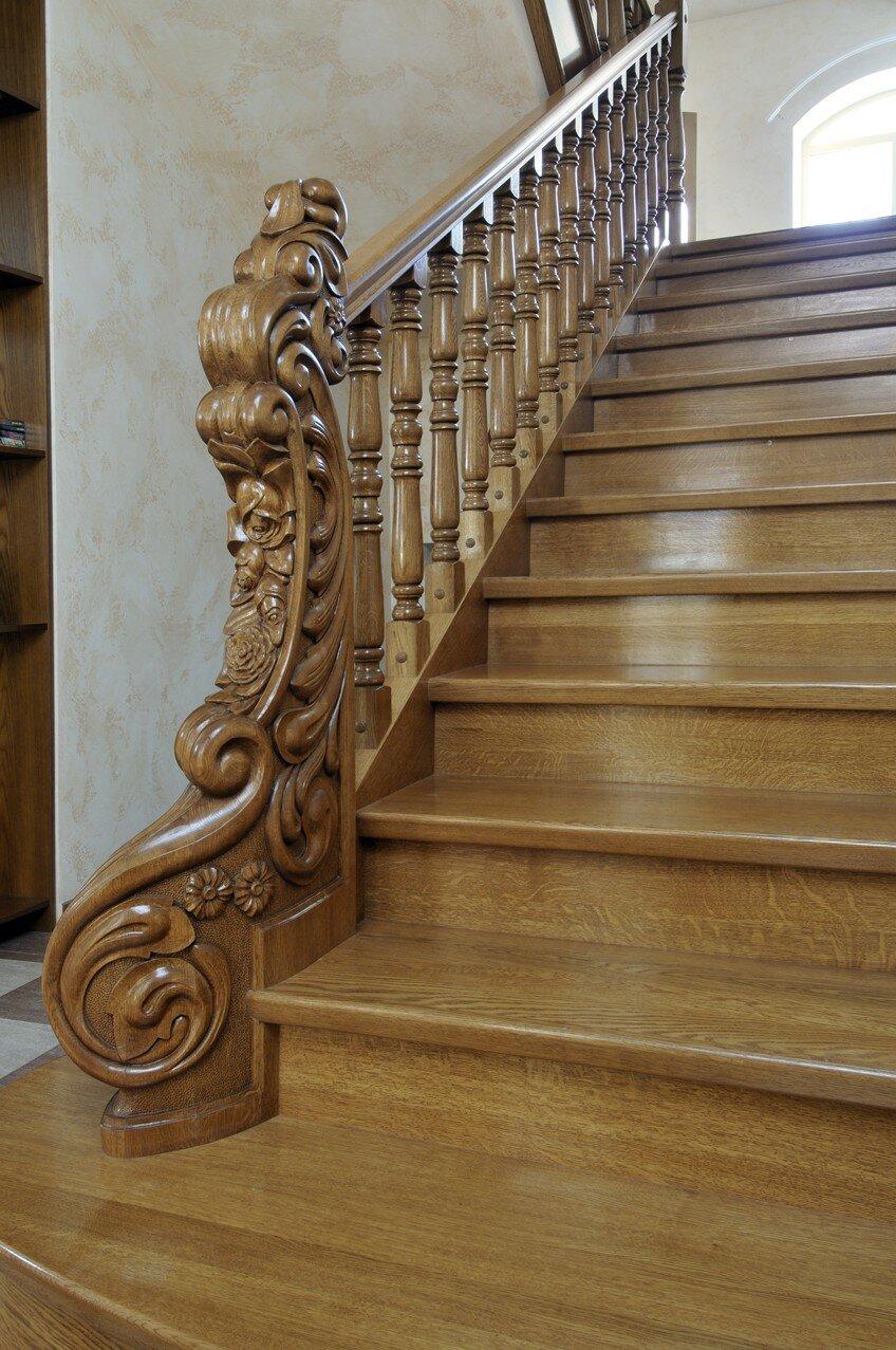 Лестница на второй этаж фото своими руками камбала