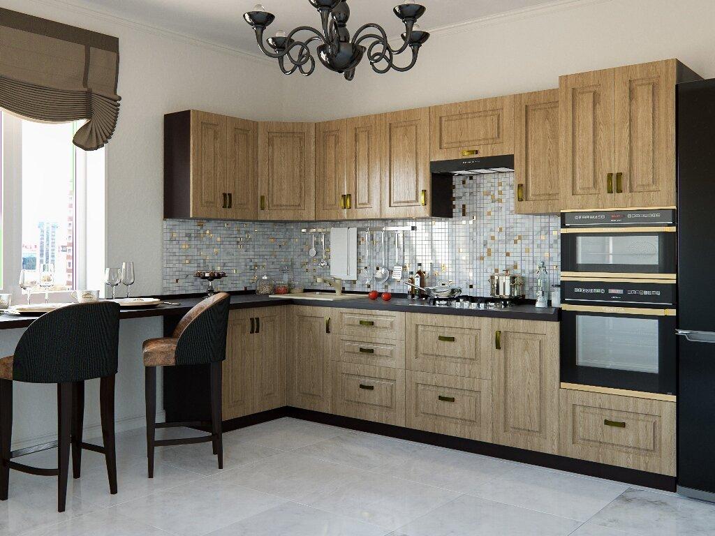 мебель кухни цвета кедр фото камень полностью натуральный