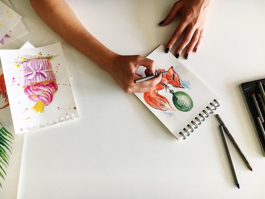 Как стать дизайнером открыток, надпись стерва как