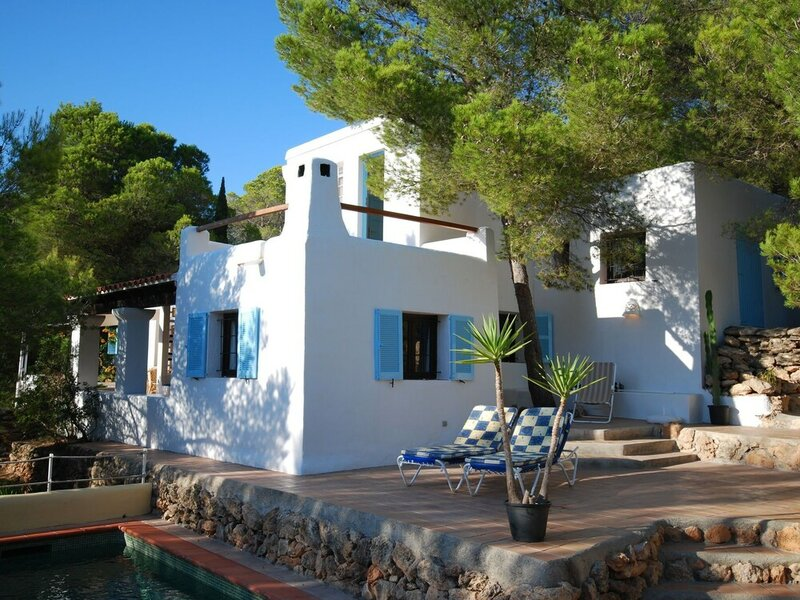 Holiday in Ibiza, Nestled Between Green With Private Pool