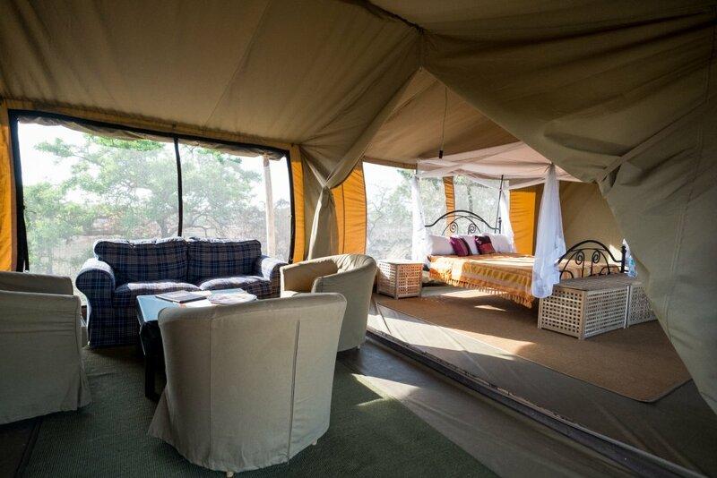 База отдыха Serengeti Ikoma Wild Camp