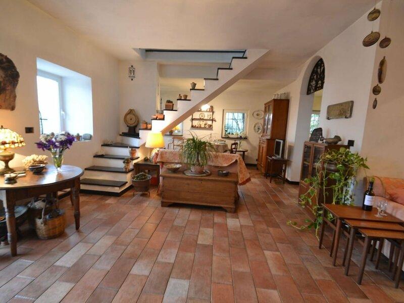 Villa in Rapallo With Terrace, Garden, Veranda, Barbecue