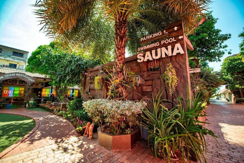 Отель The Train Resort - Sauna & SPA