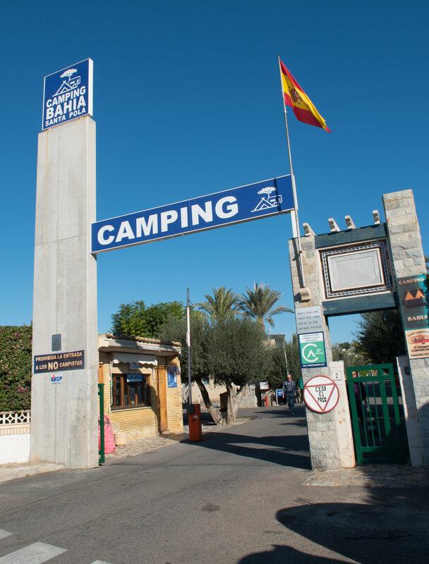 Camping Bahia Santa Pola