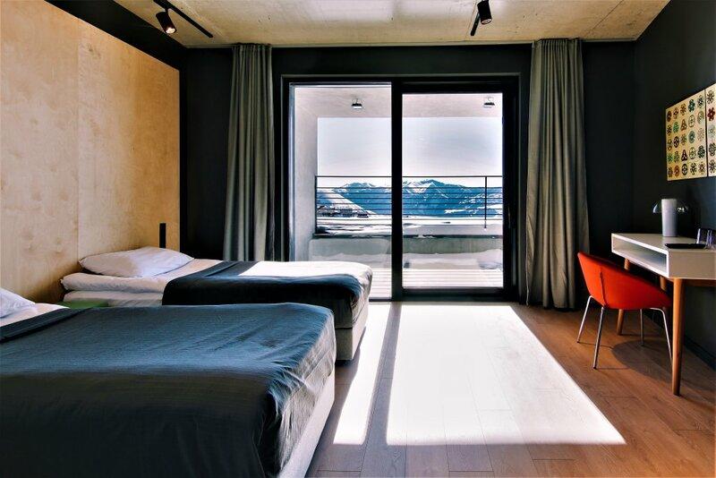 Отель Quadrum Gudauri Ski & Yoga Resort