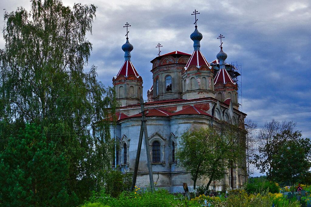 orthodox church — Tserkov Troitsy Zhivonachalnoy V Issade — derevnya Issad, фото №3