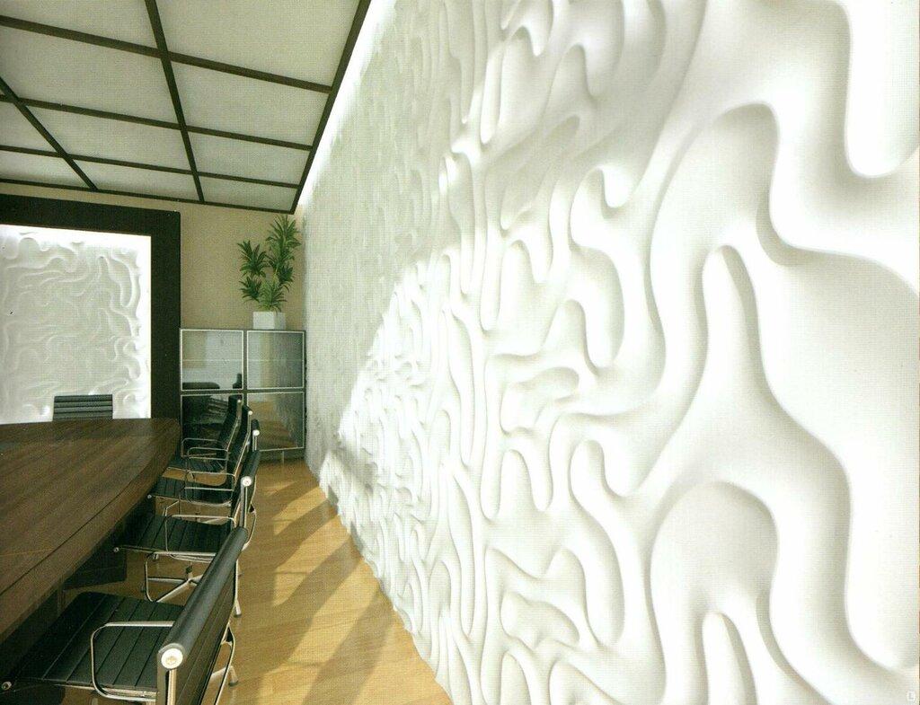 объемная отделка стен
