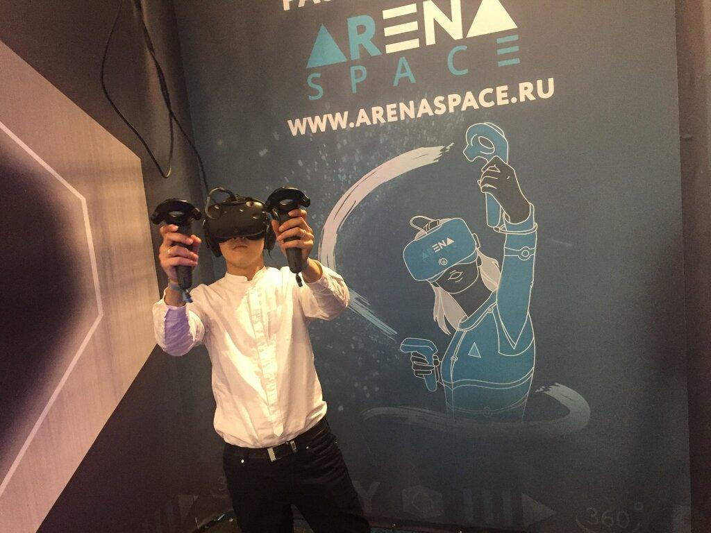 клуб виртуальной реальности — Arena Space - сеть парков виртуальной реальности — Москва, фото №5