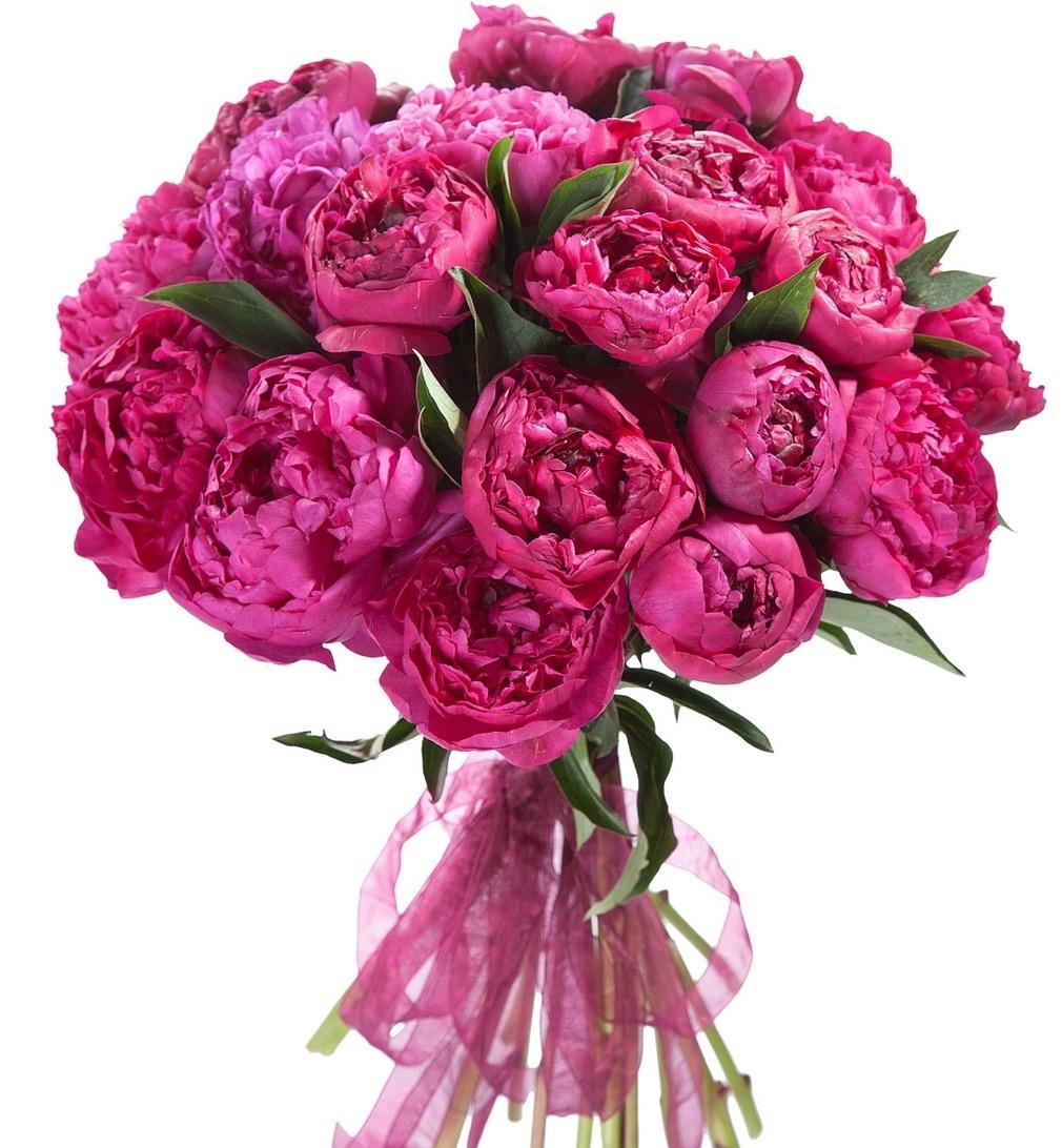 Малиновый букет цветов, цветы оби екатеринбург