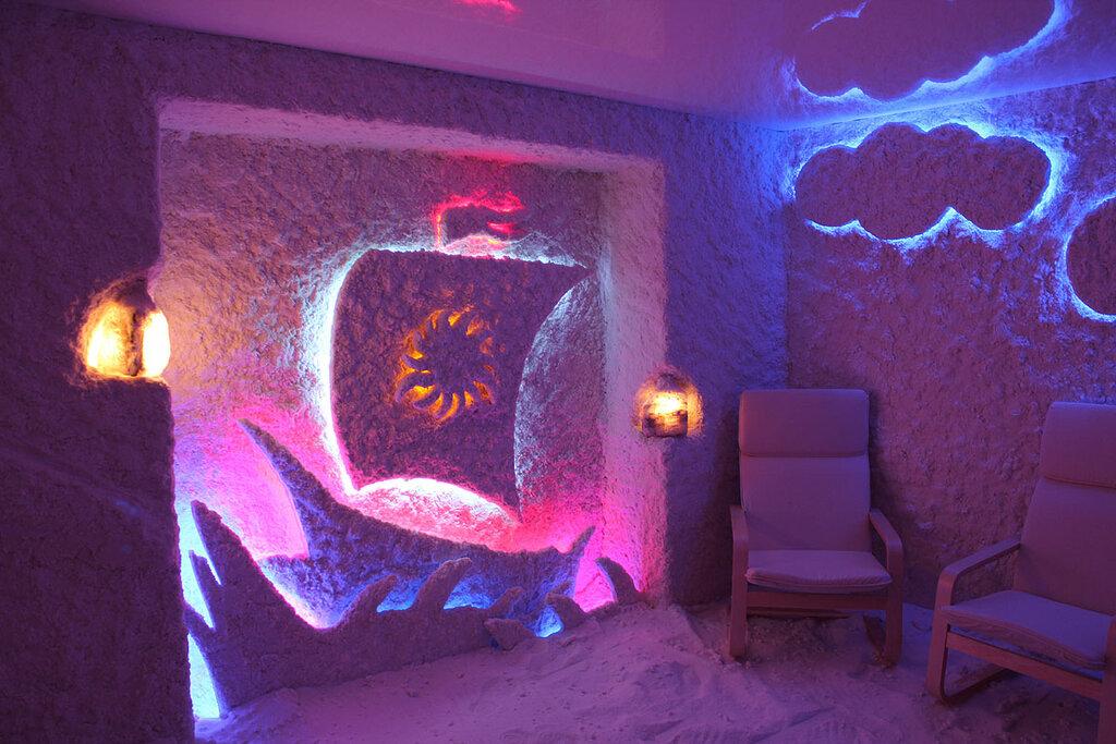 котором видите соляная пещера спелеон курган фото пугает соседство человеком