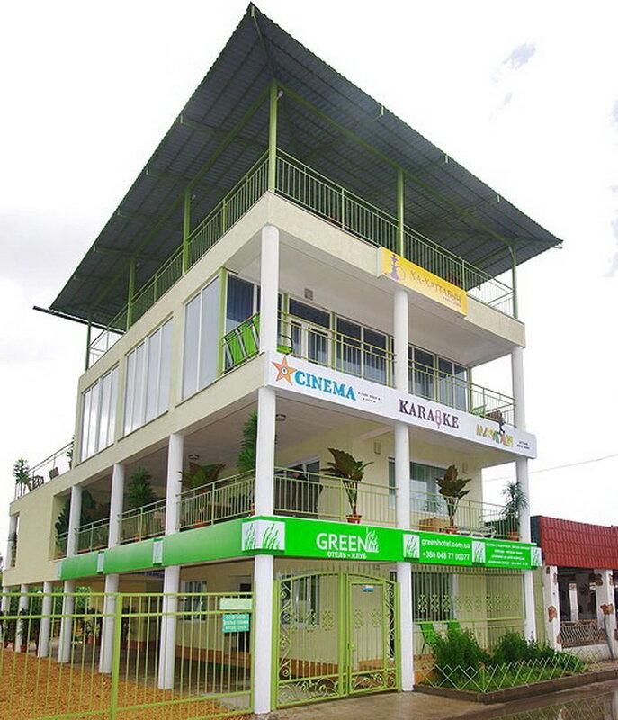 Отель-клуб Green