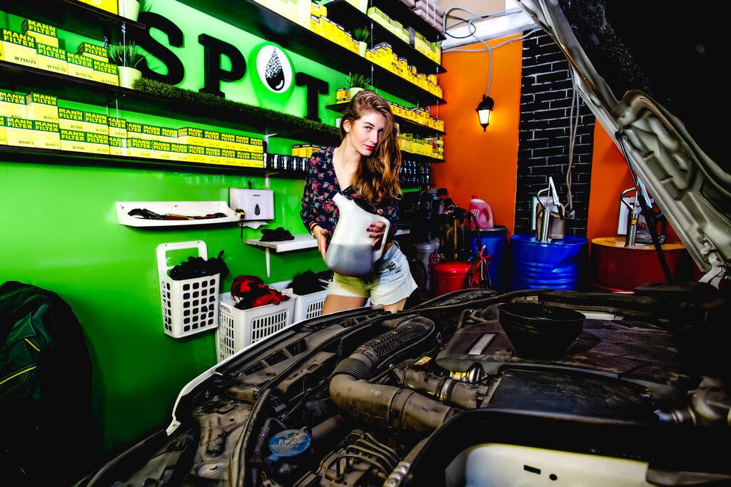 автосервис, автотехцентр — Замена масла Spot — Санкт-Петербург, фото №7