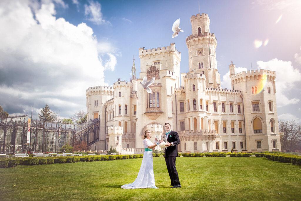Замки свадебные в картинках